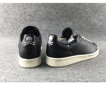 Adidas Originals X Mastermind Japan Stan Smith MMJ Schwarz/Weiß Dampf/Schwarz M22697