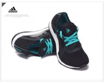 Adidas Pure Boost X Training Kern Schwarz/Schock Grün/Weiß AQ6681