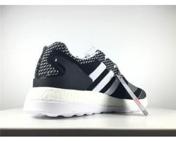 Adidas Y-3 Pure Primeknit Boost-ZG Kint Weiß/Schwarz AQ5731