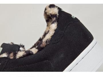 Adidas Damen Superstar Schwarzer Leopard Drucken B35434