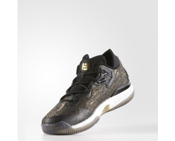 "Adidas Crazylight Boost 2016 ""Nations"" PE Low Basketballschuhe Gold Metallic/Schwarz/Weiß B39061"