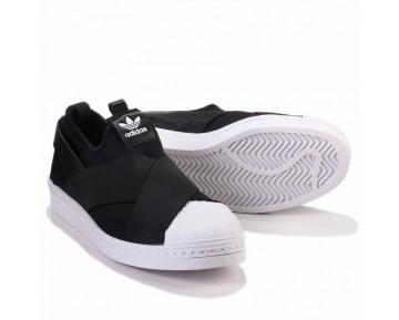 Adidas Originals Superstar Slip On W Schwarz/Weiß S81337