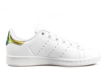 Adidas Stan Smith Weiß Glänzend/Metallic Gold AQ3009