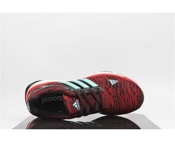 Adidas Energy Boost Primeknit ESM Rot Sprenkel/Schwarz/Grün/Weiß M29762