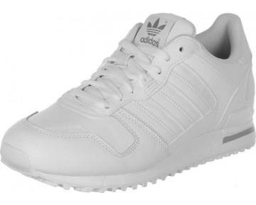 Adidas Originals ZX 700 Leder Weiss/Aluminium G62110