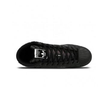 Adidas Originals Pro Model Xeno Reflektierende Triple Schwarz Q16534