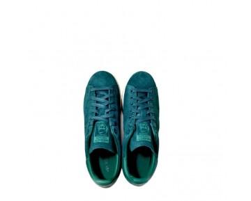Adidas Originals Stan Smith Suede Reichen Grün Mens Retro-Turnschuhe M17922