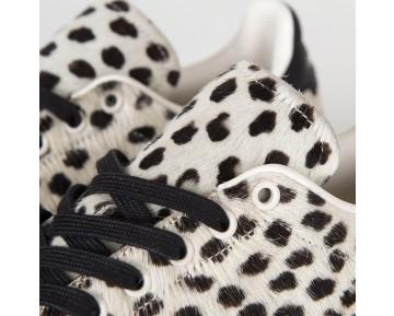 Adidas Stan Smith Tier Leopard-Druck Kreide Weiß/Kern schwarz S75117