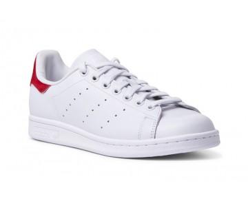 Adidas Stan Smith W - Jahrgang Weiß/Rot Pony Haar S75562