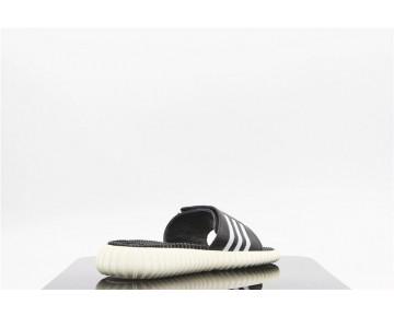 Adidas Yeezy 350 Boosts Sandal Schwarz/Weiß AQ8635