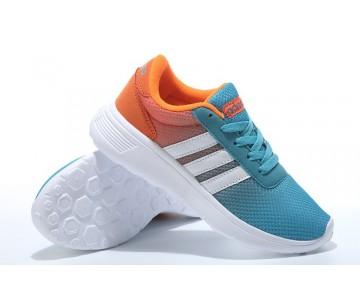 2016 Adidas Neo Damen Herren Running Schuhe Türkis/Weiß/Orange