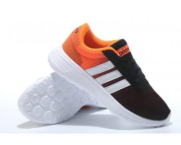 2016 Adidas Neo Damen Laufschuhe Schwarz/Weiß/Orange
