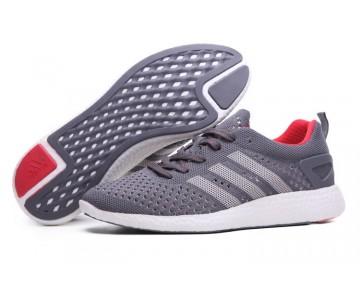 Adidas Consortium Primeknit Pure Boost Asche/Kollegien Granit/Weiß B35164