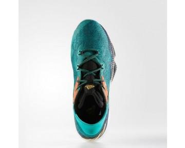 Adidas Crazylight Boost Low 2016 Schuhe Gold Metallic/Kern Schwarz/Weiß Laufen Ftw B54172