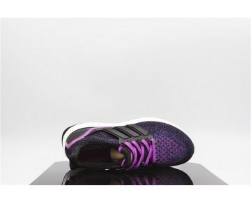 Adidas Ultra Boost Weiß Violett/Kern Schwarz/Schock Lila AQ5935