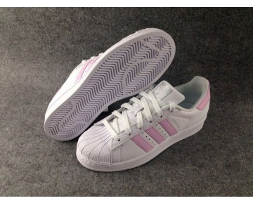 Adidas Originals Superstar Frauen Weiß/Baby Rosa BA7683