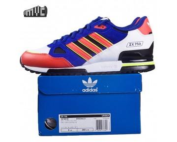 Adidas Originals ZX 750 Damen Herren Lifestyle Schuh Schwarz/Weiß/Hellen Roten AF4610