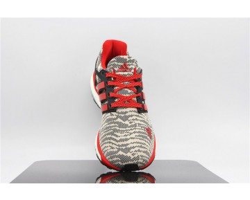 Adidas Energy Boost Primeknit ESM Grau Rot Sprenkel/Weiß M29761