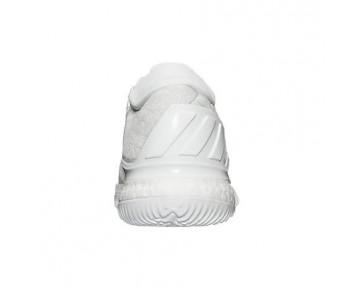 Adidas Crazylight Boost Low 2016 Herren Basketballschuhe B42425 Laufen Weiß Ftw/Clear Grau