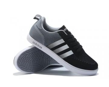 Adidas Neo Flyknit Damen Herren Laufschuhe Schwarzgrau
