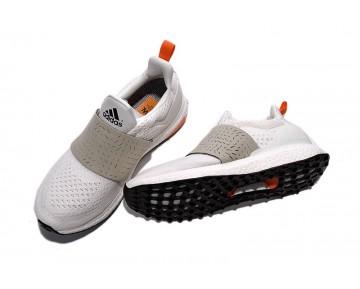 Adidas Consortium x WOOD WOOD Ultra Boost Weinlese Weiß/Fest Grau/Orange AF5779