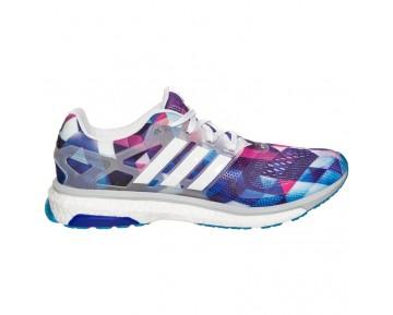 Adidas Running Energy Boost ESM Weiß/Zero Metallic/Solar Blau B26593