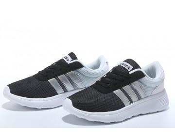 2016 Adidas Neo Damen Herren Running Schuhe Schwarz/Silber/Weiß