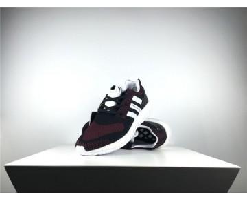Adidas Y-3 Pure Primeknit Boost-ZG Kint Schwarz/Rot Noir Roug AQ5733