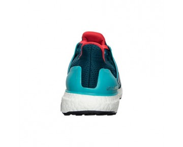 Herren Adidas Ultra Boost Laufschuhe Klar Grün/Mineral/Schock Rot AQ4005 GRD