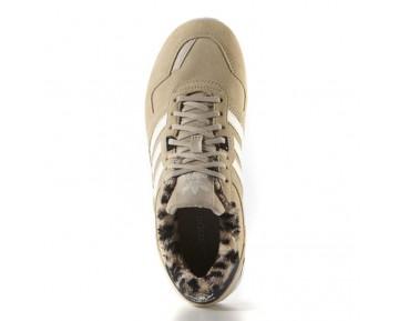 Adidas Originals ZX 700 Beige Leopard Beiläufige Schuh Turnschuhe B25719