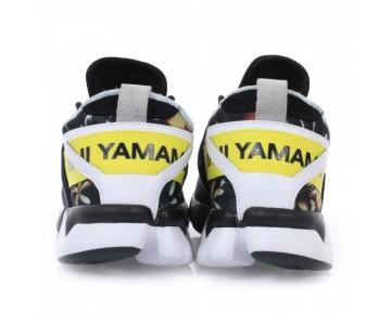 Adidas x Yohji Yamamoto Y-3 Kohna Hibiscus Schwarz/Gelb/Weiß B26258