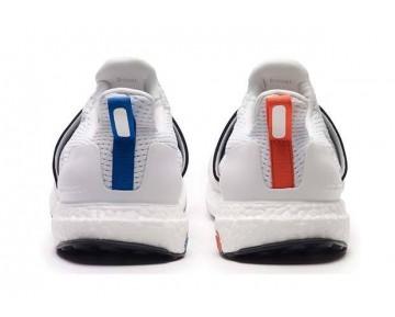 Wood Wood x Adidas Ultra Boost Weiß/Grau/Orange/Blau AF5779