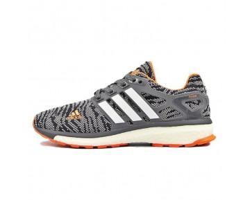 Adidas Energy Boost Primeknit ESM Dunkel Grau/Orange/Weiß M29764
