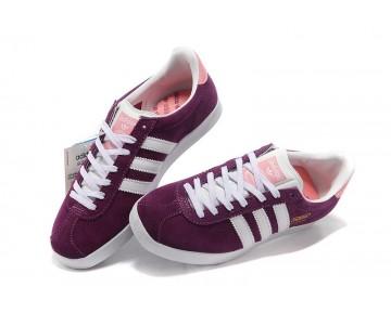 Adidas Gazelle OG Damenschuhe Lila Violett Rosa Weiß U42697