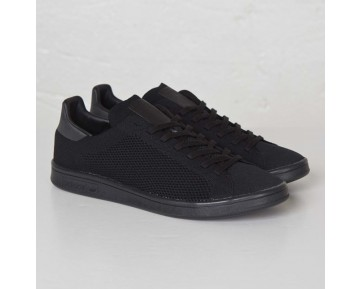 Adidas Originals Stan Smith Primeknit Sneakers 'Triple Schwarz' AF4452