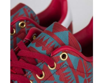 Adidas Stan Smith Macht Rot/Gold S75120