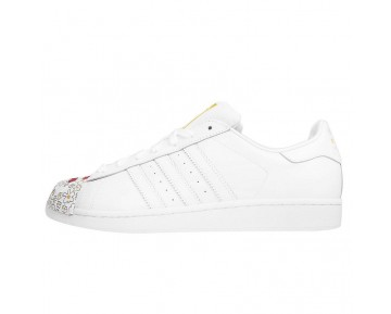 Adidas Originals Superstar MR Supershell Weiß/Weiß/Gelb S83368