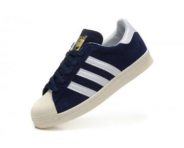 Adidas Originals Superstar 80s DELUXE Stifts Marine/Vintage Weiß/Gold Metallic B35988