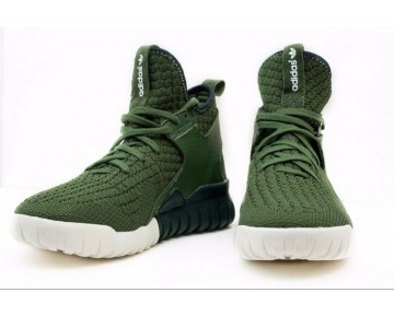 Adidas Originals Tubular X Primeknit Dunkelgrünes S81672