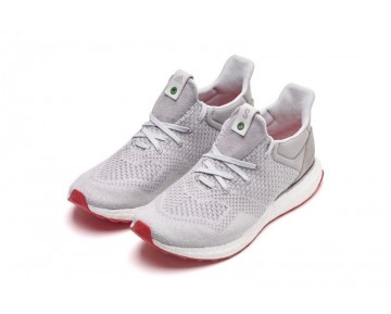 Solebox X Adidas Consortium Ultra Boost Uncaged Grau/Weiß/Rot/Orange S80338