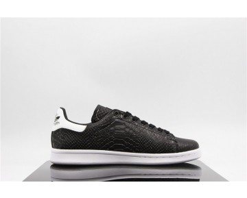 Adidas Stan Smith Crocodile Schwarz/Weiß AQ4631