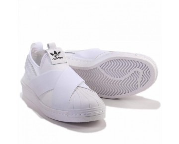Adidas Originals Superstar Slip On W Weiß S81338