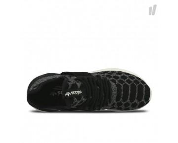 Adidas Tubular Runner Primeknit Schuhe Schwarz/Kohle/Altweiß B25573