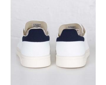 Adidas Stan Smith OG Primeknit Schuhe Kern Weiß/Kreide Weiß/Neuer Marine S75148