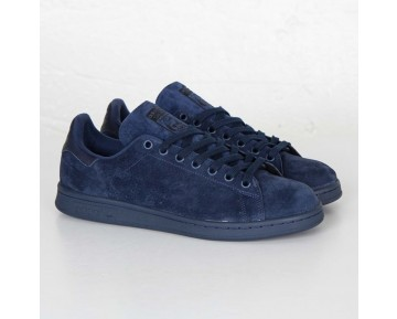 Adidas Originals Stan Smith Nacht Indigo/Dark Indigo/Schwarz S75107
