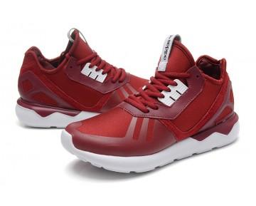 Adidas Originals Tubular Runner Kollegien Weinrot/Kollegien Weinrot/Weiß B41274
