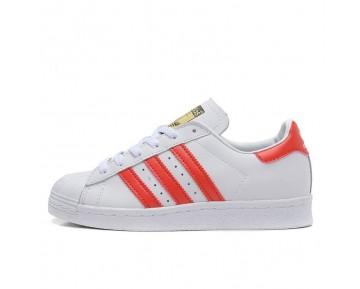 Adidas Originals Superstar 80s DELUXE Altweiß/Scharlachrot/Weiß B35982