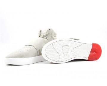 Adidas Originals Tubular Invader Strap Sesam/Sesam/Kräftiges Rot BB5035