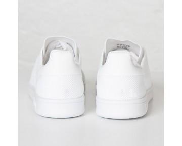 Adidas Originals Stan Smith Primeknit Sneakers 'Triple Weiß' AF4451