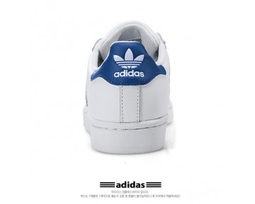 Adidas Superstar Foundation J Weiß-Blau S74944